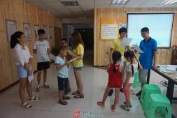 彩虹守护计划走进煤建新村社区开展第二次小组活动