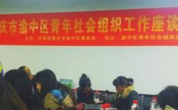朱勇、赵颖馨参加重庆市渝中区青年社会组织座谈会