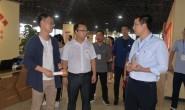 共青团甘肃省张掖市委员会一行人到国贸中心调研
