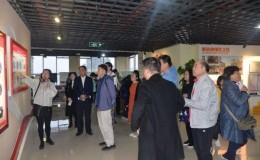 上海静安区社会组织党建人才到国贸中心交流学习