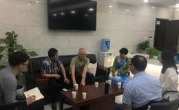 巴渝公益参加市公安局境外办组织的交流会