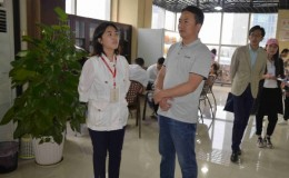 青海西宁城中区参观学习国贸中心党群服务中心