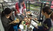 巴渝公益组织开展妇女节团队建设活动