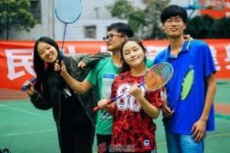 国贸中心青年羽毛球比赛拉开帷幕
