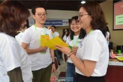 余薇、兰辉参加绿色晋级环保社创训练营