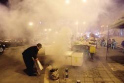 【重庆晚报】重庆江北区PM2.5污染油烟占1成 将清理露天烧烤摊