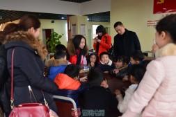 国贸中心党群服务中心开展寒假亲子安全营活动
