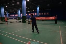 第二届国贸中心青年职工羽毛球比赛拉开帷幕