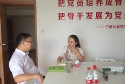 郑建接受《当代党员》杂志专访