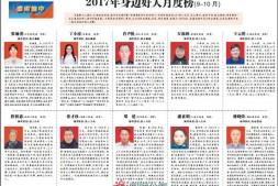 """【渝中报】郑建主任被推荐为""""感动渝中""""2017年身边好人"""