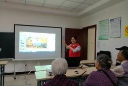 《水与健康》环保科普讲座走进明佳园社区