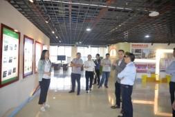 贵州遵义市红花岗区委组织部调研国贸中心党群服务工作