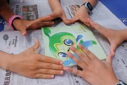 世界地球日,趣味环保课堂走进大学城人民小学