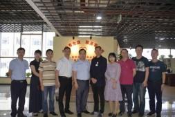 重庆市生态环境局机关后勤服务中心调研走访国贸中心党群服务中心