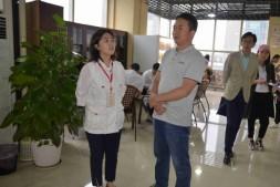 青海西宁城中区到国贸中心党群服务中心调研学习