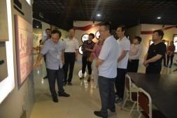 甘肃金昌金川区委组织部调研国贸中心楼宇党建工作