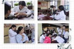 国贸中心党委联合中国中医研究院促进会为企业白领健康送福利