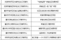 """巴渝公益获得同佳岸基金会""""幸福社区""""发展计划立项资助"""