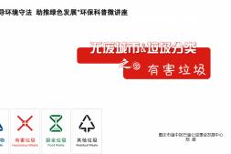 垃圾分类宣传片展播-有害垃圾